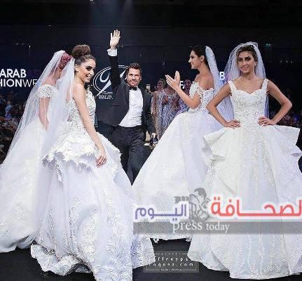 تكريم النجمة دومينيك في مهرجان Arab Asia fashion week