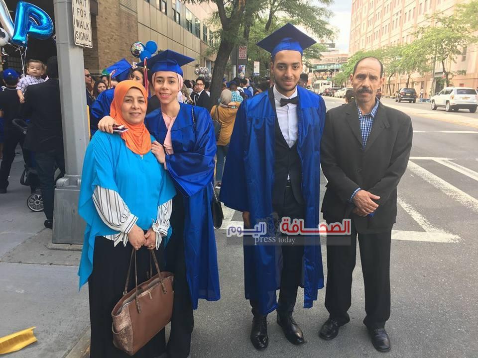 ألف مبروك نجاح المهندس محمد جلال وشقيقته د.آية