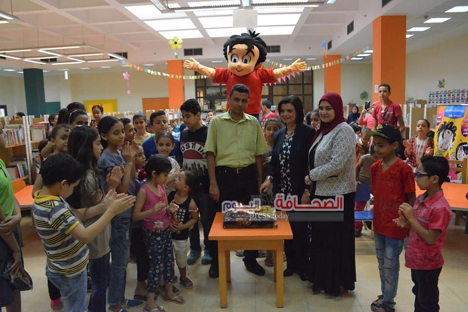 بالصور .. الإحتفال بالعيد 24 لصدور مجلة علاء الدين بمكتبة الزاوية الحمراء
