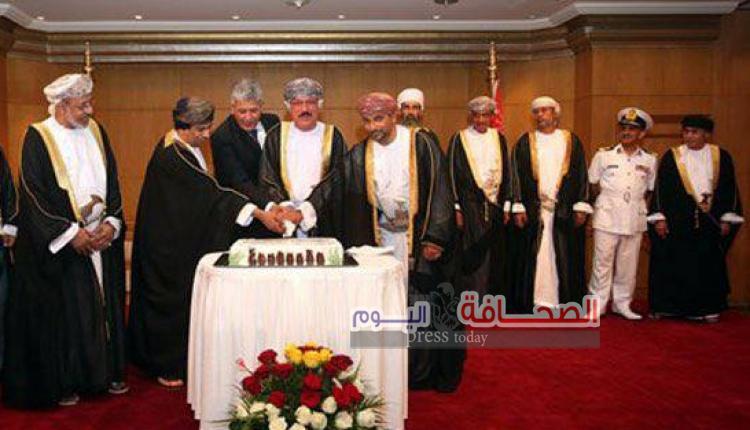 حفل استقبال في سلطنة عمان بمناسبة عيد ثورة يوليو 2