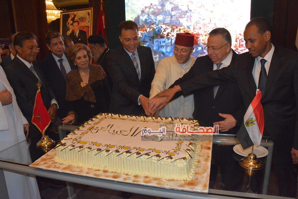 شاهد : الأحتفال بعيد العرش المغربى