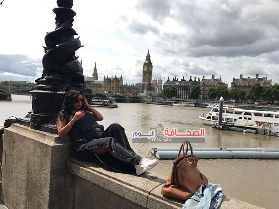 بالصور :الإعلامية (جورى بكر) تقضى أجازة العيد بأوروبا