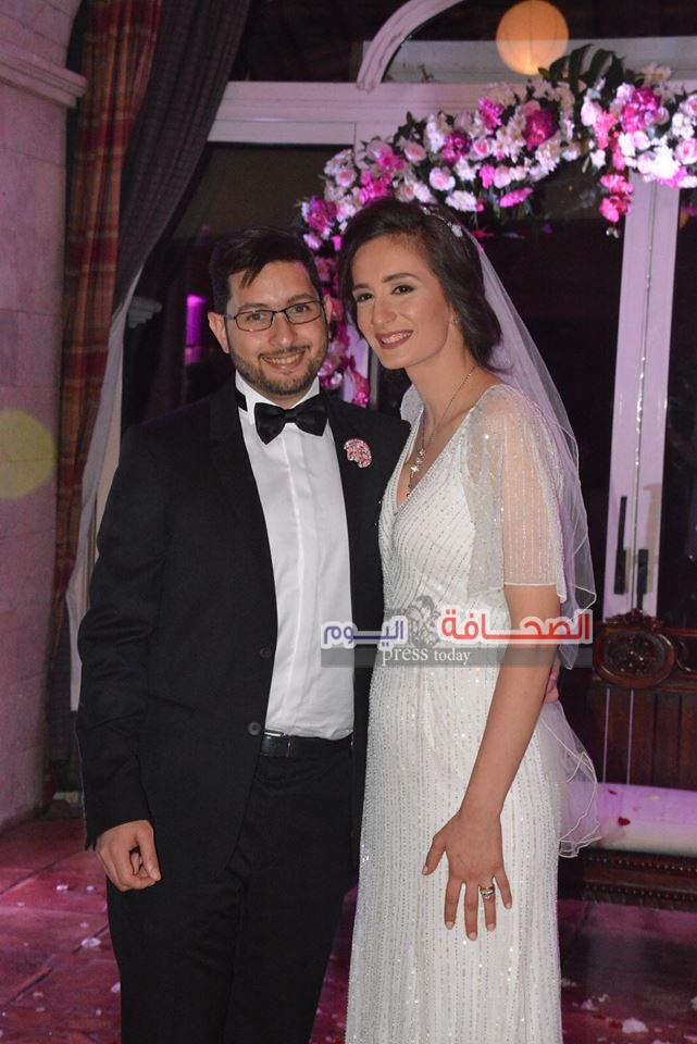 بالصور .. زفاف أروى عز الدين وخالد العبد