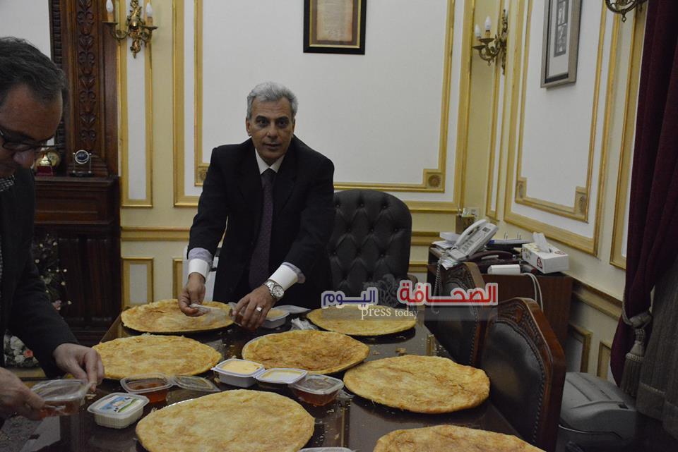 د.جابر نصار: يحتفل مع أعضاء هيئة التدرس فى ختام فترة رئاسته لجامعة القاهرة