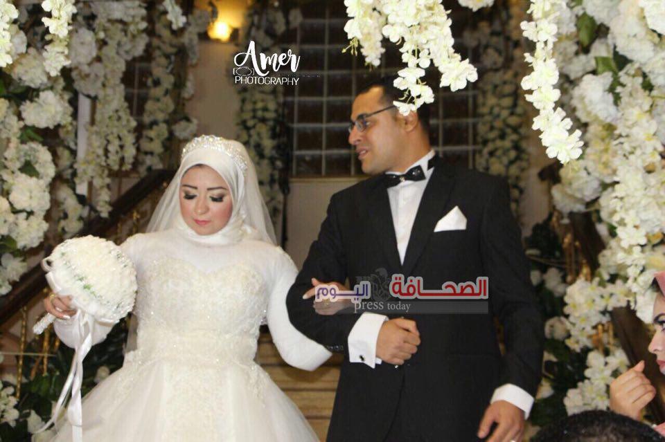 بالصور:حفل زفاف شريف عيسى وهبة الله سمير