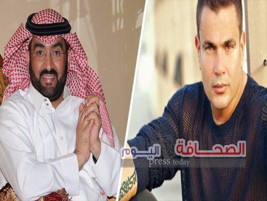 """أجمل عيون """" لعمرو دياب وتركي آل الشيخ تتخطى المليون الثاني"""
