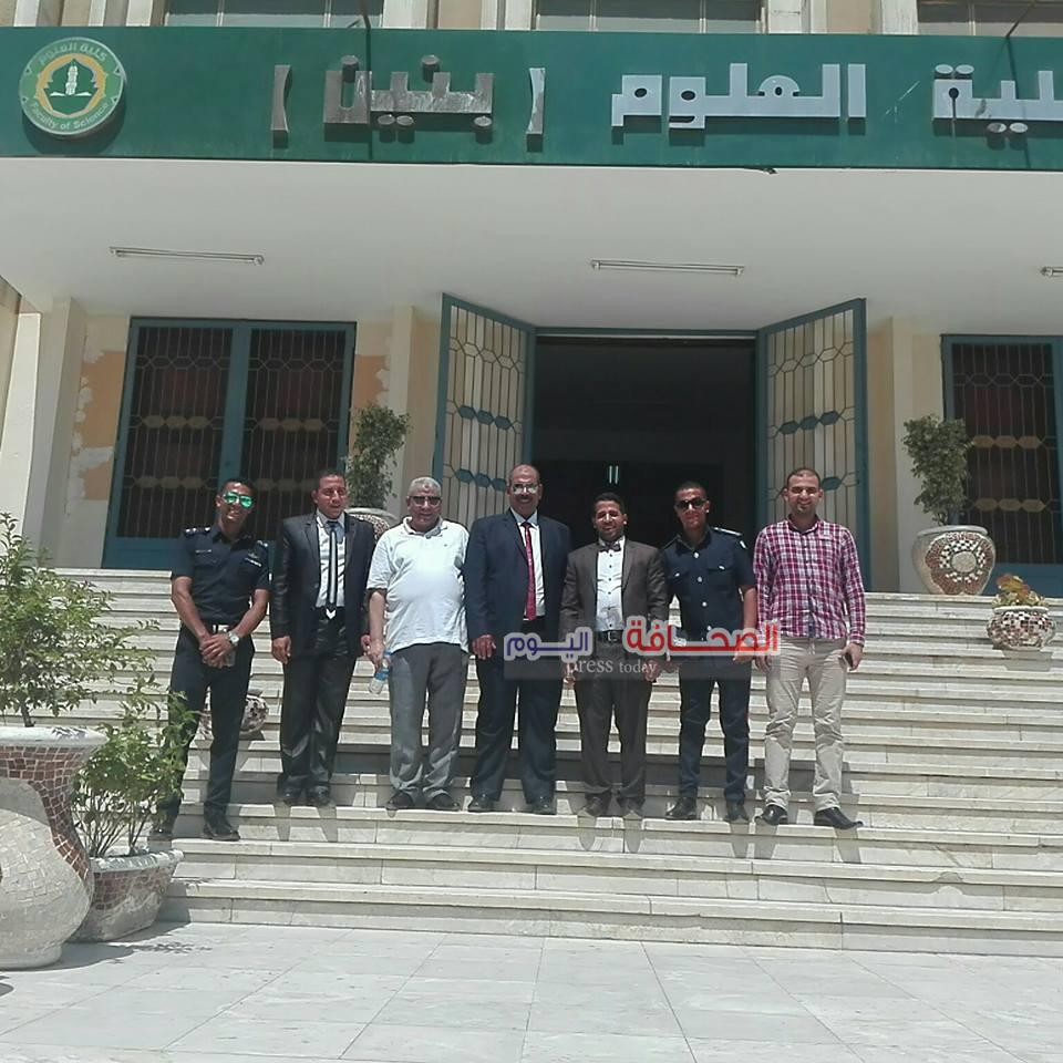 ماجيستير مع مرتبة الشرف لـ أحمد محمد رمضان
