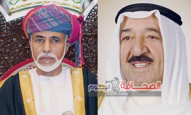 السلطان قابوس تلقّى رسالة من الشيخ صباح أمير الكويت