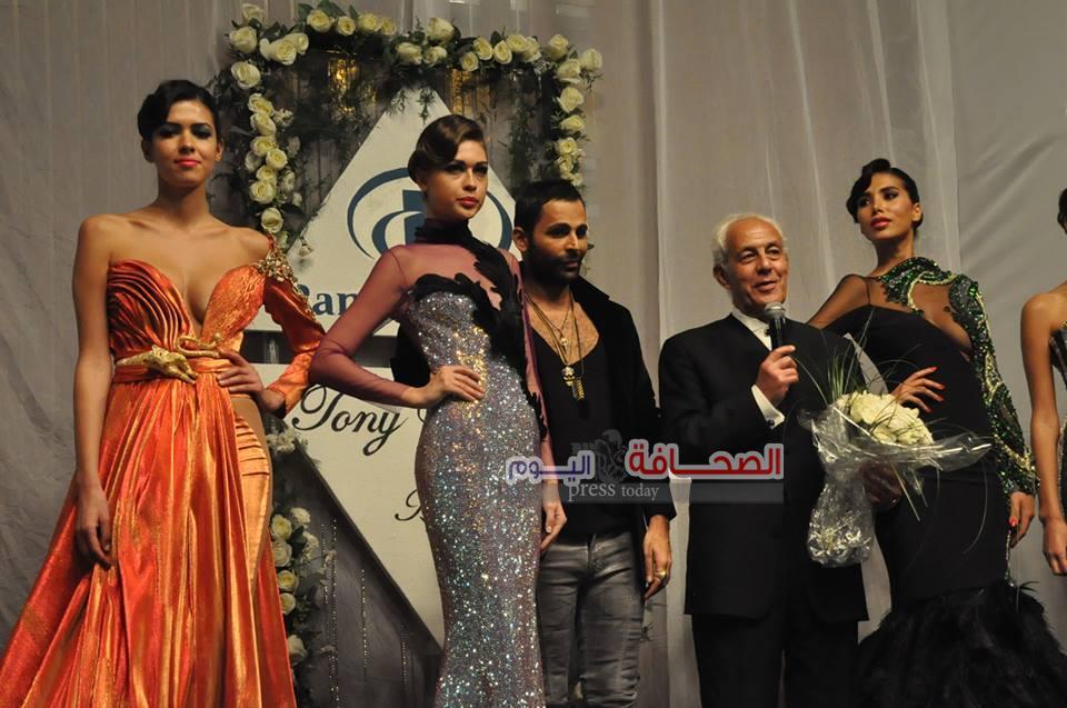 بالصور..عرض أزياء لبنانى على ضفاف النيل