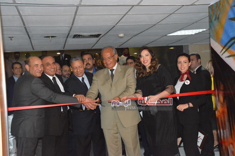 بالصور .. إفتتاح معرض كنوز الأهرام الرابع