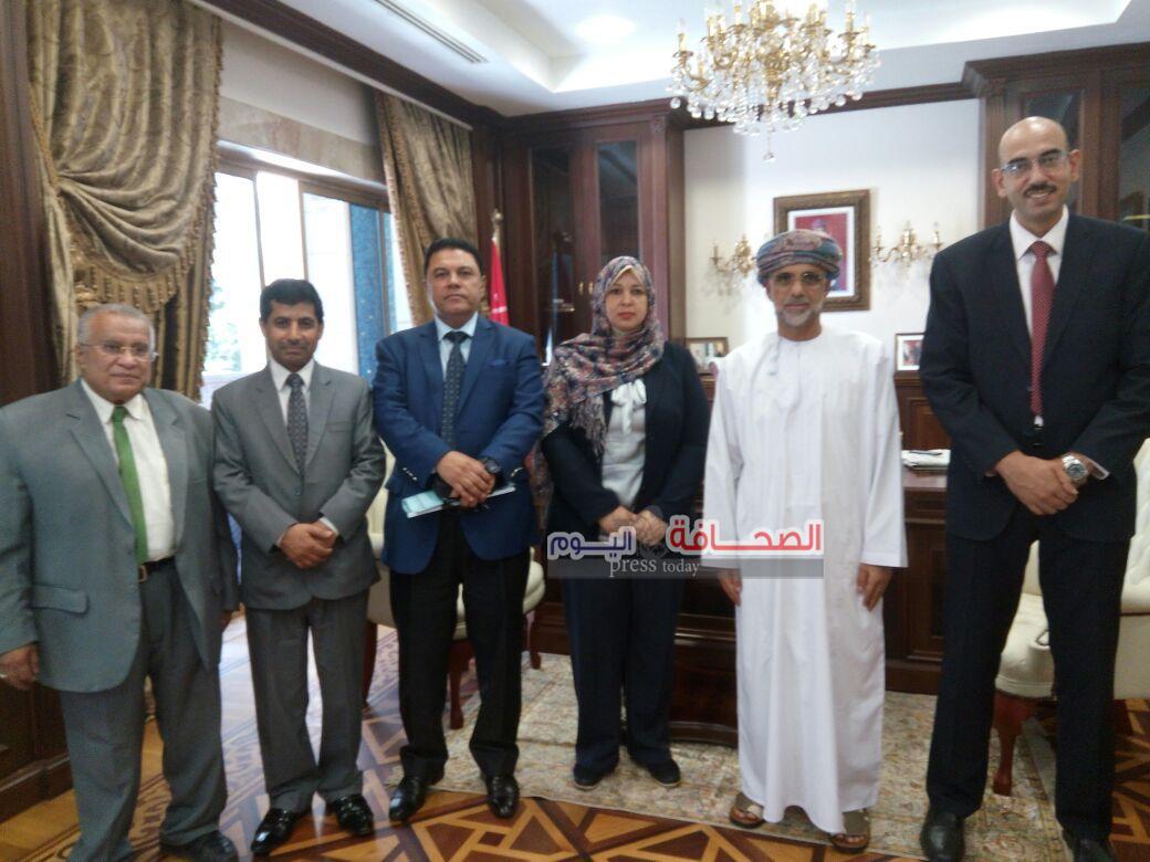 د. العيسائى : تدشين جمعية الصداقة المصرية العمانية تجسيد للعلاقات الإستراتيجية
