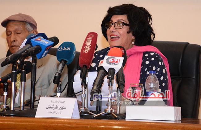 سهير المرشدى :لم يتم طرد الوفود المشاركة فى المهرجان الأفريقى الأسيوى
