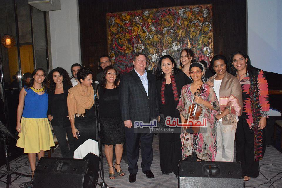 بالصور ..حفل فريق بنما لموسيقى الجاز على نيل القاهرة