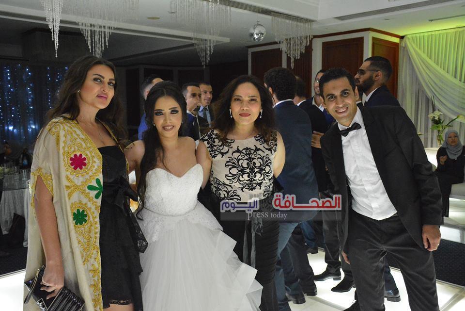 بالصور .. حفل زفاف رشا على ومحمد عصام