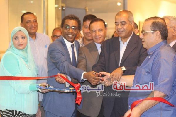 بدر وعواض يفتتحا فعاليات ملتقي القاهرة الدولي لفنون الخط العربي بالأقصر
