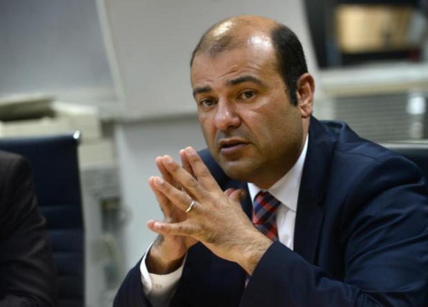 خالد حنفي يلقي كلمة في مؤتمر الشراكة بين القطاع العام والخاص بجامعة الدول العربية