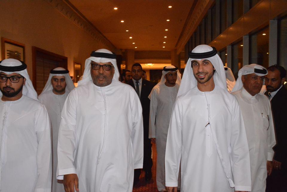 بالصور: سفير الإمارات يشهد إحتفالية الشيخ عمار المعلا بمناسبة حصوله على الدكتوراه