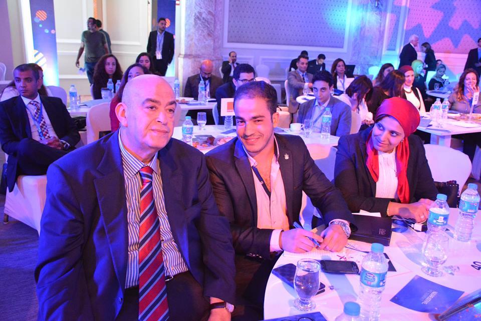 بالصور : عماد الدين أديب ووزراء ومثقفون فى مؤتمر (صوت مصر )