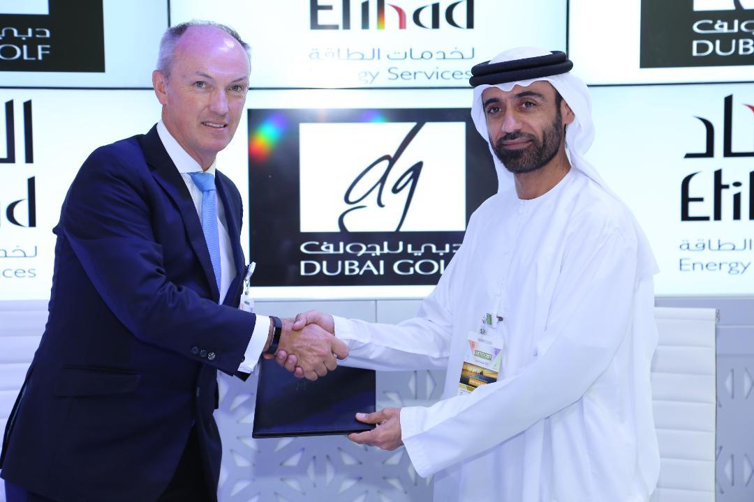 """""""الاتحاد إسكو"""" توقع اتفاقية بقيمة 31.6 مليون درهم مع دبي للجولف"""