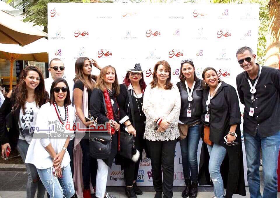 وزيرة التضامن تفتتح معرض النهاردة مصرى