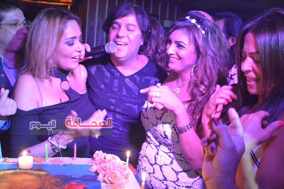 بالصور .. لينا الصافى تحتفل بعيد ميلادها