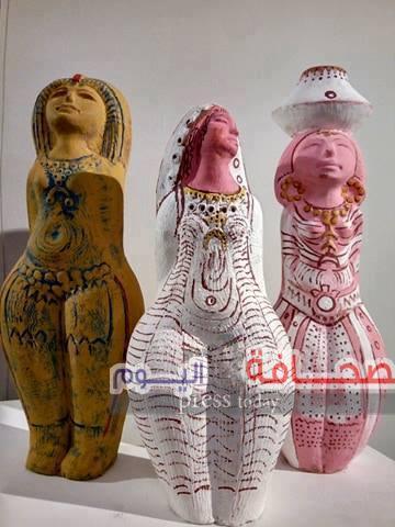 (الشموع ذكرى البداية ) معرض فنى بمؤسسة الشموع الثقافية