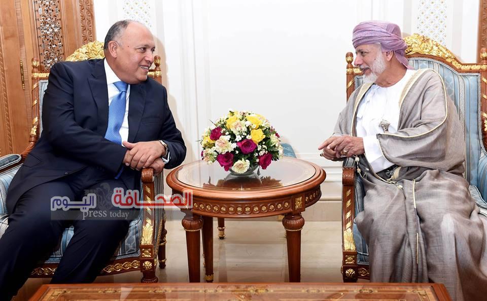 رسالة من الرئيسعبدالفتاح السيسي إلى السلطان قابوس