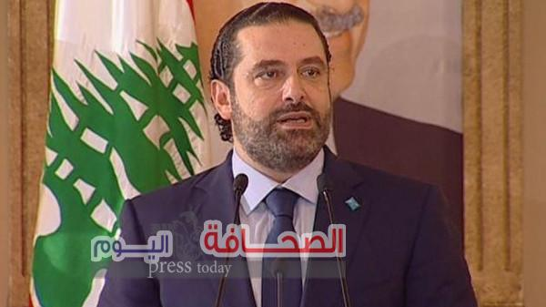 """""""الحريرى"""" يعزى الرئيس السيسى فى الحادث الأرهابى"""