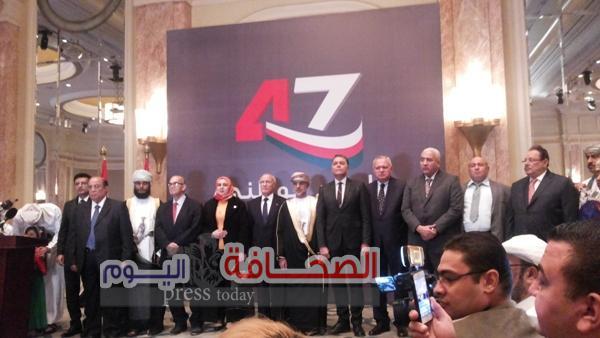 سلطنة عمان تحتفل بالعيد الوطنى (47 )بالقاهرة
