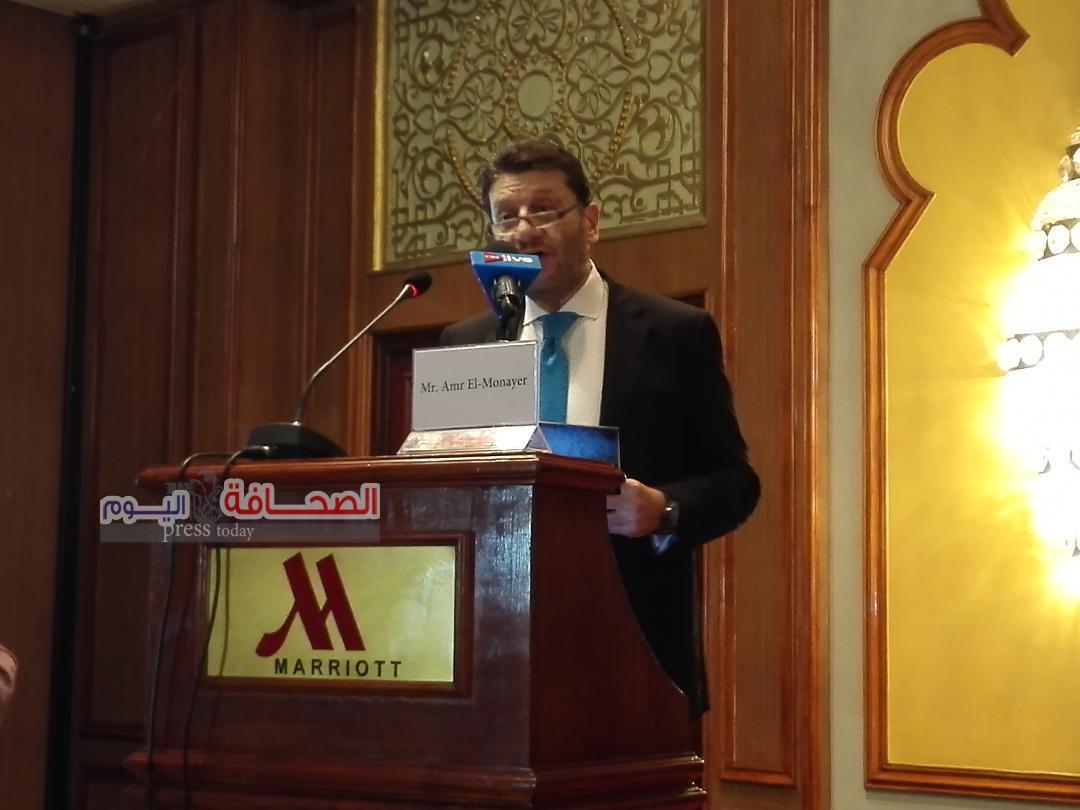 عمرو المنير : 2.4 مليون منشاة صغير تعمل بمصر بحجم انتاج 403 مليار جنيه