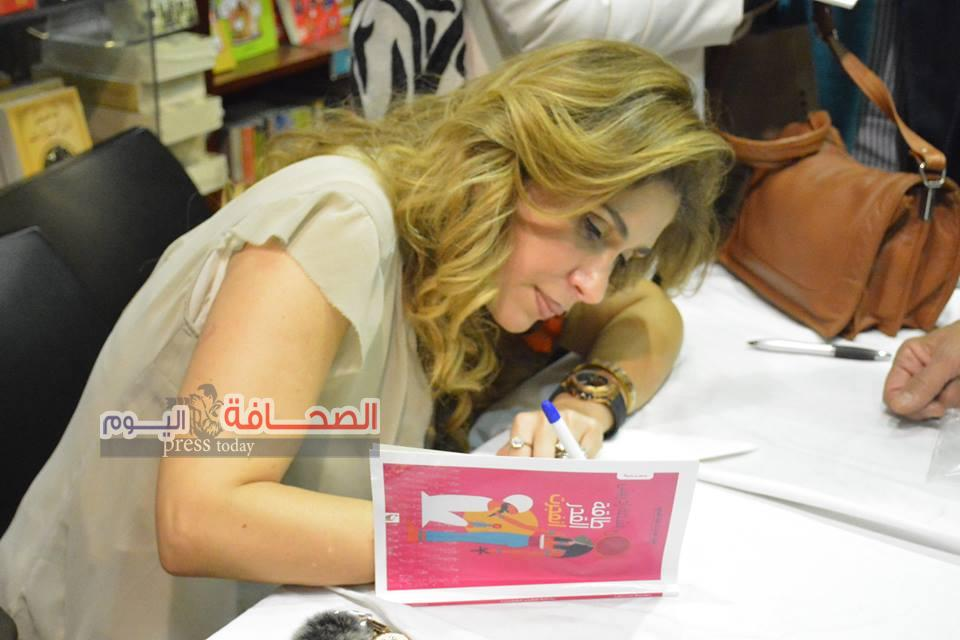 بالصور:حفل توقيع مسرحية (طاقة القدر إنفجرت )لـ د.نسمة إدريس