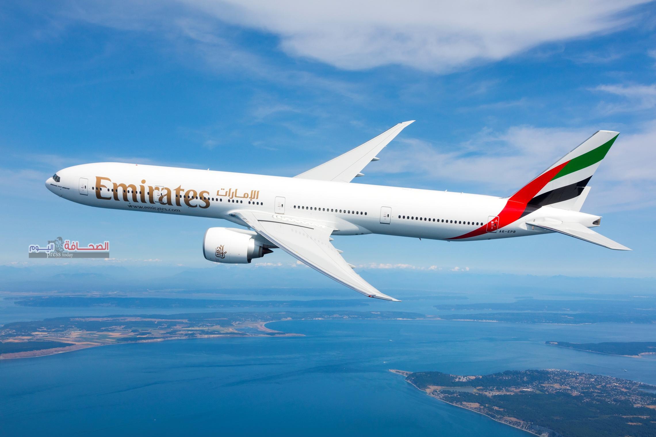 طيران الإمارات تشغل البوينج 777 الجديدة إلى أوروبا