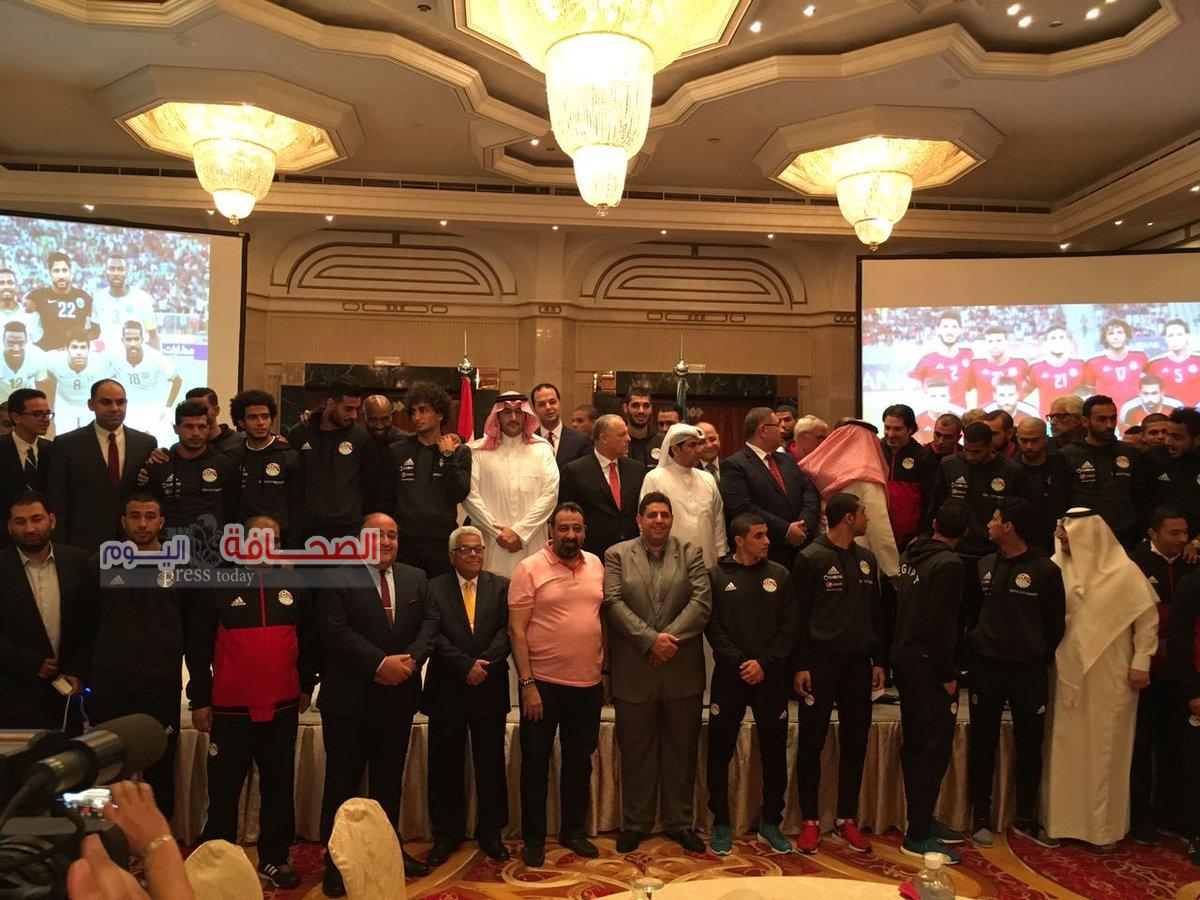 هيئة الرياضة السعودية تحتفي بالمنتخب المصري