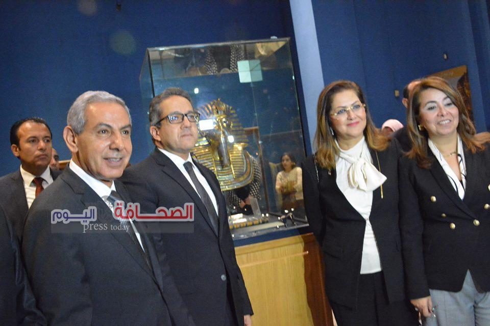 بالصور .. الاحتفال بمرور 115 عاما على إنشاء المتحف المصرى