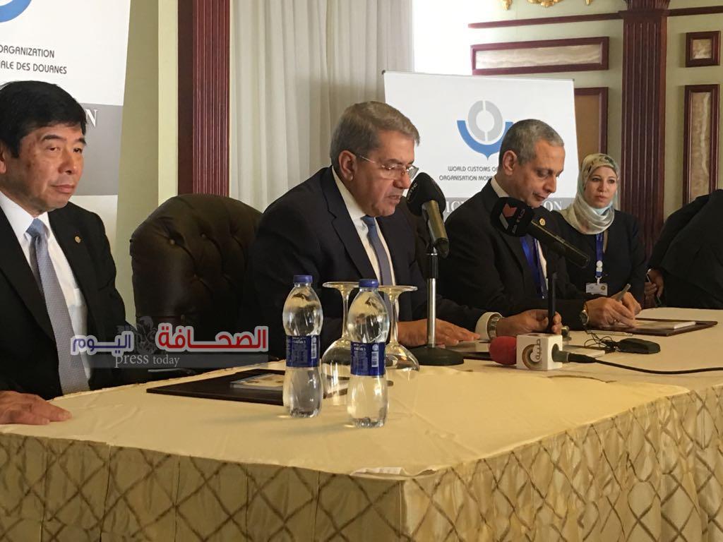 الأمين العام لمنظمة الجمارك العالمية:حضور 32 دولة الى مصر أفضل رسالة للرد على الإرهاب