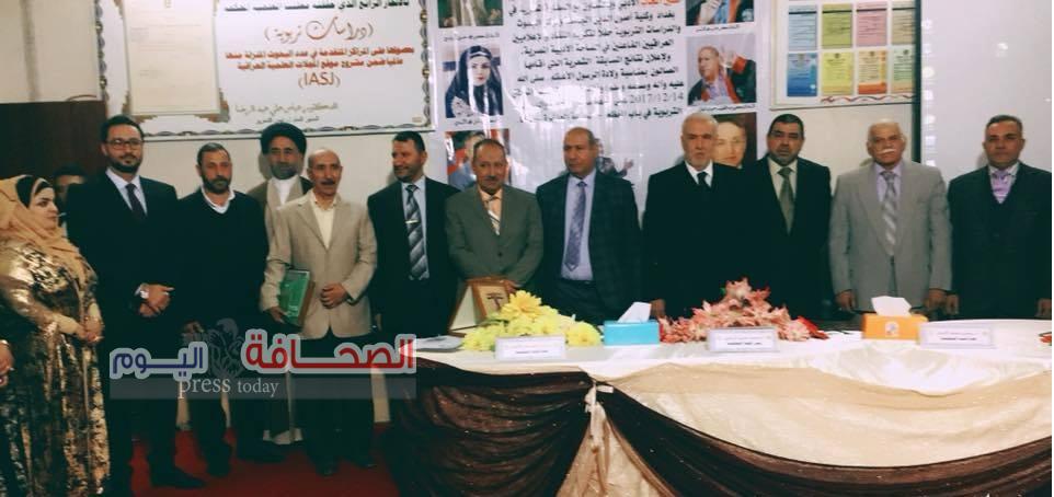 غراب والبيومي يحصدان جائزة النور المحمدي العراقية