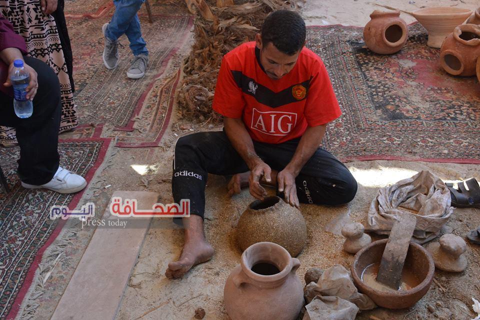 بالصور.. مهرجان الحرف اليدوية بقرية تونس بالفيوم