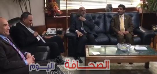 """""""سلامه وثابت """" يستقبلان د. العيسائى سفير سلطنة عمان بالقاهرة"""