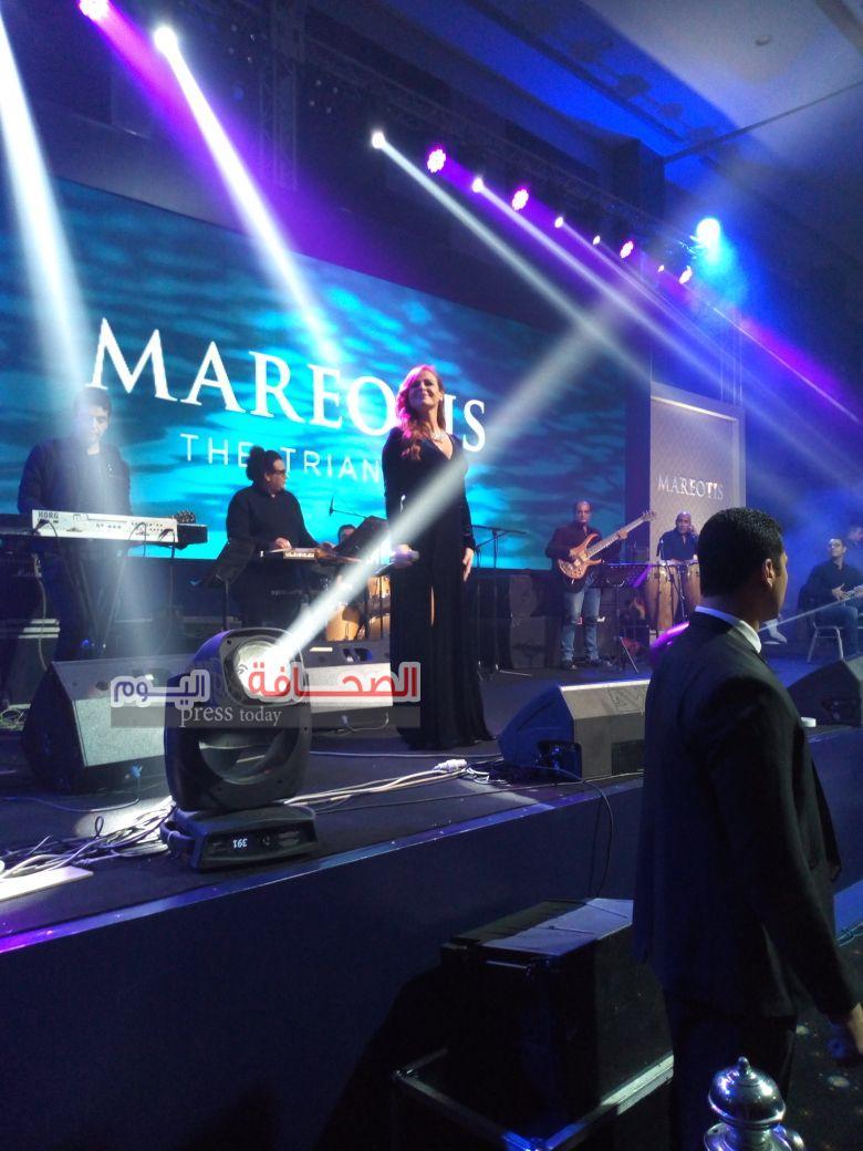كارول سماحة:تبهر الحضور فى حفلها بالأسكندرية