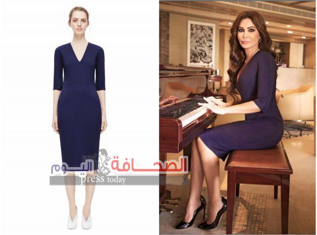 """فستان """"اليسا """"من تصميم فيكتوريا بيكهام"""