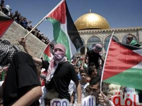 مقتل فلسطيني في غزة في اشتباكات بسبب اعتراف ترامب بالقدس عاصمة لإسرائيل