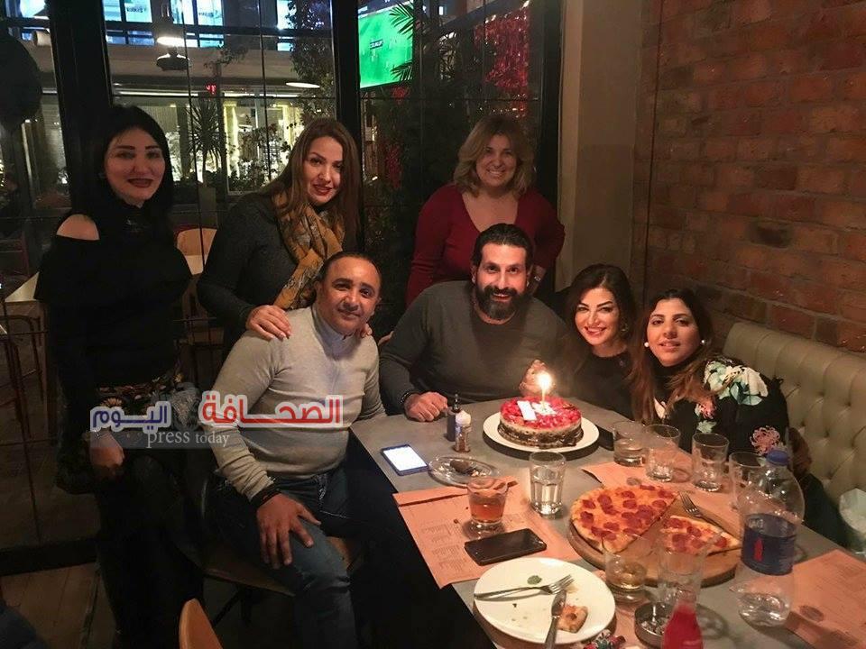 بالصور .. حفل عيد ميلاد  عمرو البدرى