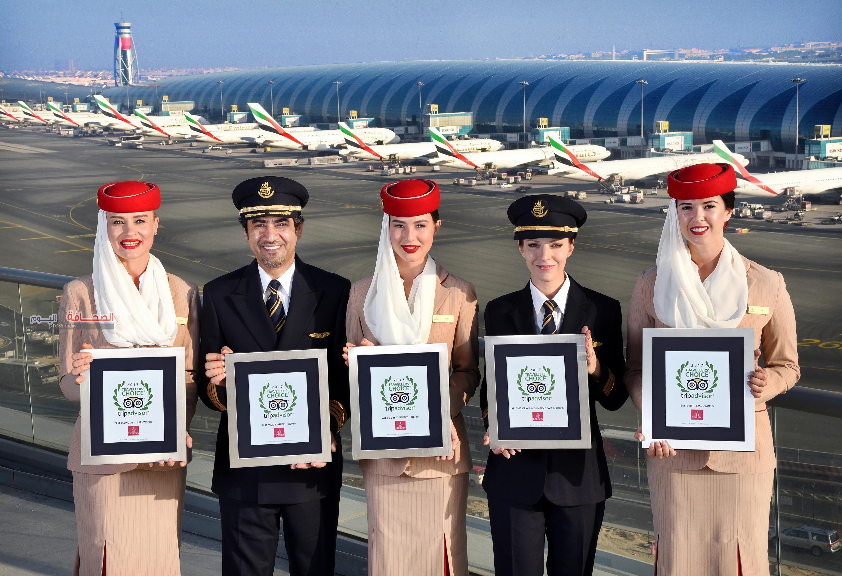 طيران الإمارات تختتم عام 2017 بمزيد من التألق