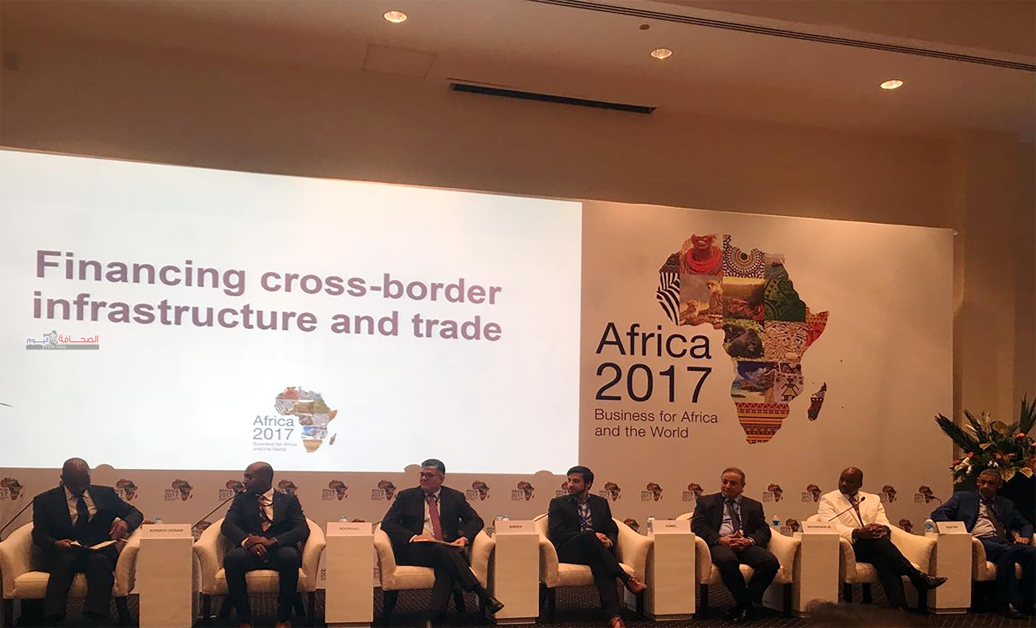 """المؤسسة الدولية الإسلامية لتمويل التجارة تشارك فى مؤتمر """" افريقيا 2017 """" بشرم الشيخ"""