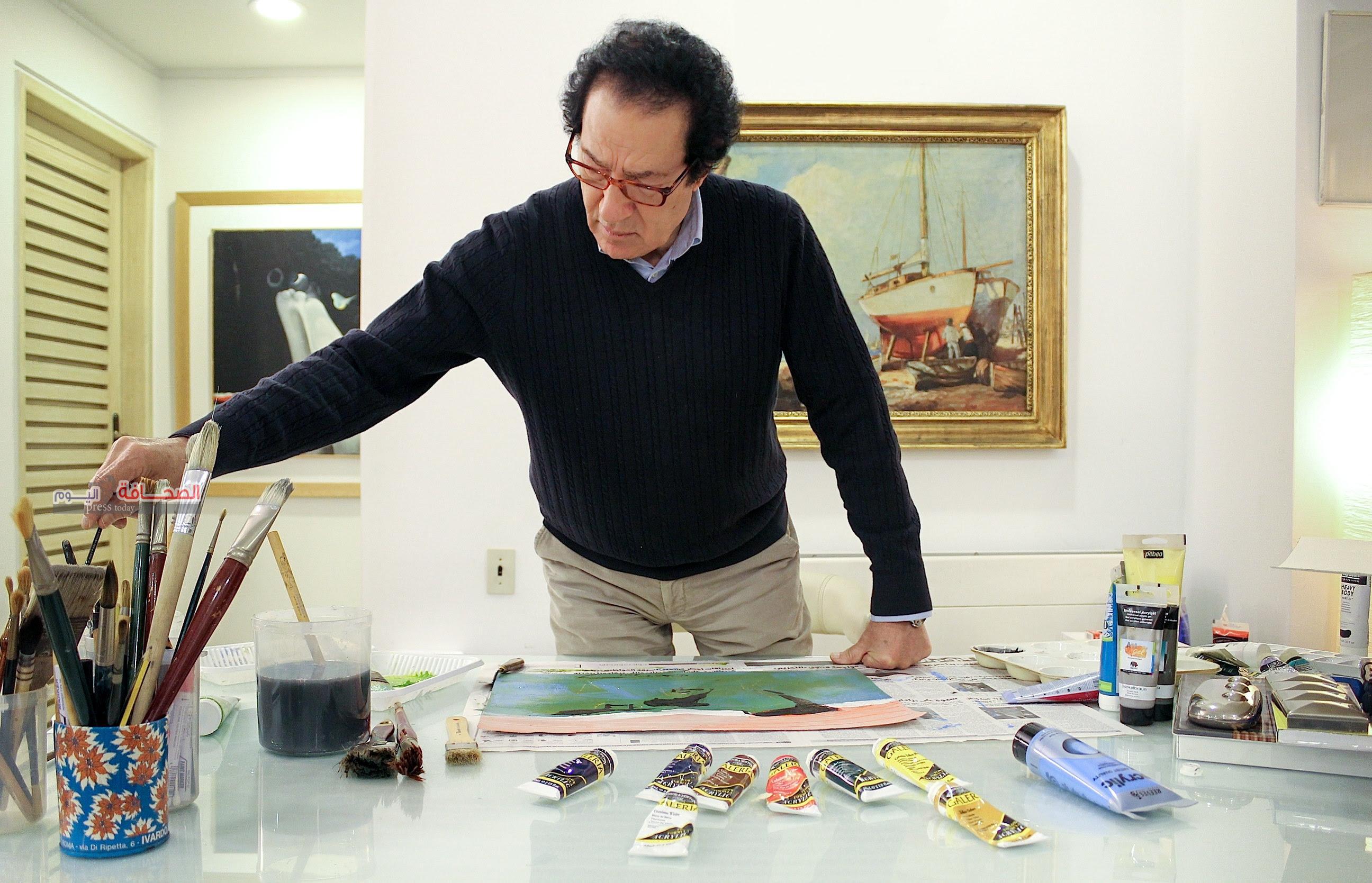"""""""فاروق حسني"""" يستعد لإطلالة فنية جديدة بداية فبراير المقبل"""