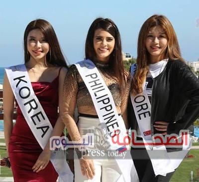 ملكات جمال القارات في مدينة الغردقة
