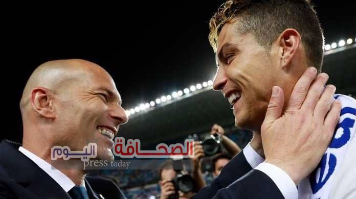 ماذا قال زيدان عن رحيل رونالدو  عن ريال مدريد ؟