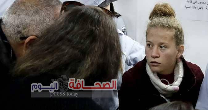 """تجديد إعتقال """"عهد التميمى """"حتى نهاية يناير الجارى"""