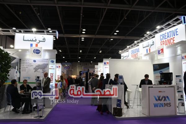 بيزنس فرانس: تقوم بإدارة الجناح الفرنسي بمعرض الشرق الأوسط للتجهيزات الداخلية للطائرات MRO
