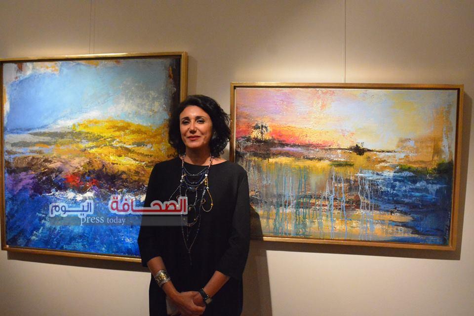 بالصور .. إفتتاح معرض صحبة فن بقاعة بيكاسو
